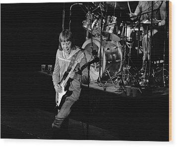 Trower At Winterland Wood Print by Ben Upham