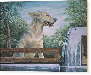 Truck Queen  Wood Print by Craig Gallaway
