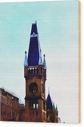 Wood Print featuring the photograph True Colors - Scranton by Janine Riley