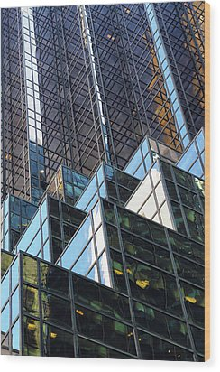 Wood Print featuring the photograph Trump Tower by Mitch Cat