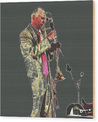 Trumpeter  Wood Print by Yury Bashkin