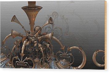Trumpets Of Doom Wood Print