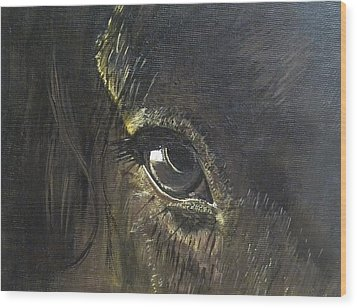 Trusting Eye Wood Print