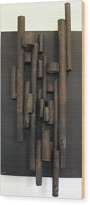 Tube Wood Print by Ralph Levesque
