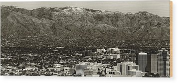 Tucson  Wood Print