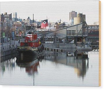 Tugboat 2 Wood Print