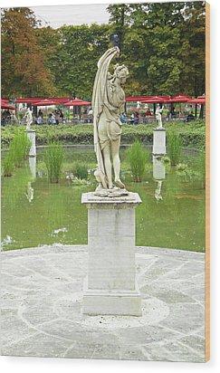 Tuileries Trollop Wood Print