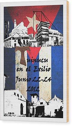 Tuinucu En El Exilio Wood Print