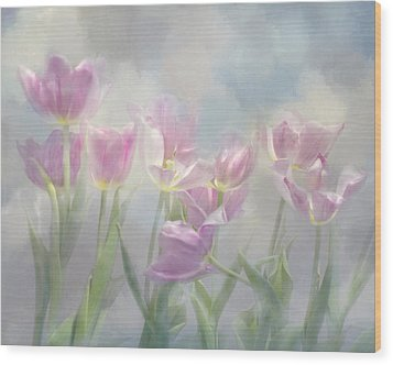 Tulip Dreams Wood Print