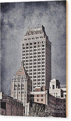 Tulsa Art Deco I Wood Print by Tamyra Ayles