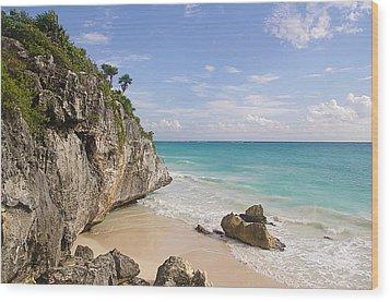 Tulum, Riviera Maya Wood Print by Fabian Jurado's Photography.