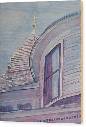 Turret And Copula  Wood Print by Jenny Armitage