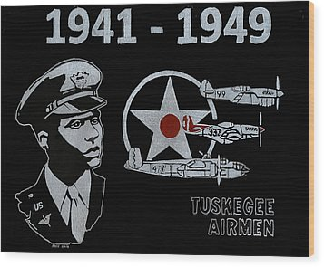 Tuskegee Airmen Wood Print by Jim Ross