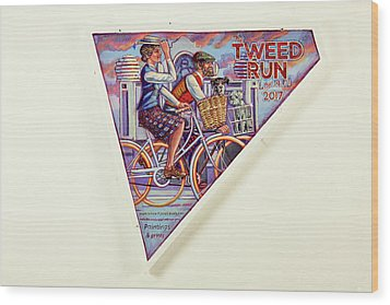 Tweed Run London Princess And Guvnor  Wood Print