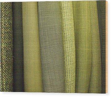 Tweeds Wood Print by Anna Villarreal Garbis