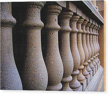 Twelve Pillars Wood Print by Glenn McCarthy Art and Photography