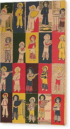Twenty Little Mexicans Wood Print by Biagio Civale