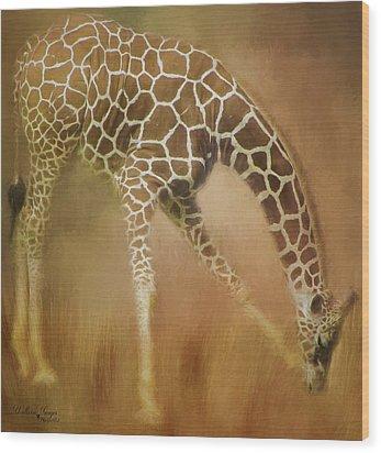 Wood Print featuring the photograph Twiga Kiswahili For Giraffe by Wallaroo Images