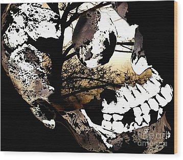 Twigs Wood Print by Misha Bean