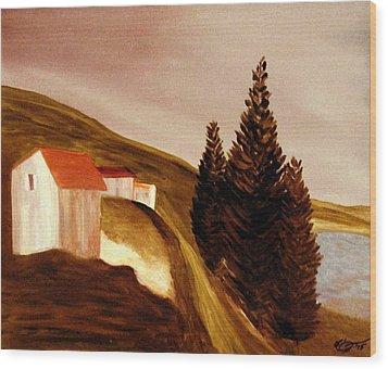 Twilight Wood Print by Bill OConnor