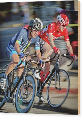 Wood Print featuring the photograph Twilight Criterium by Matthew Ahola