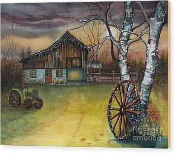 Twilight Hour Wood Print