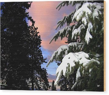 Twilight Hour Wood Print by Will Borden