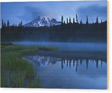 Twilight Majesty Wood Print by Mike  Dawson