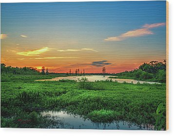 Wood Print featuring the photograph Twilights Arrival by Marvin Spates