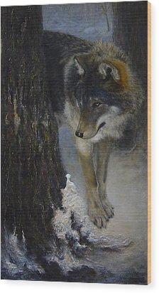 Twilight's Preyer  Wood Print