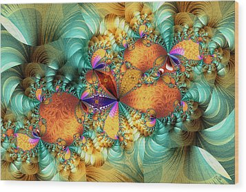 Twister Wood Print by Kim Redd