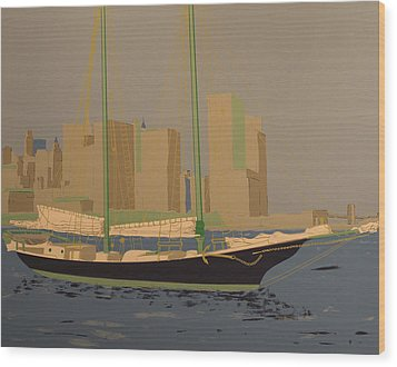 Two Masts Wood Print by Biagio Civale