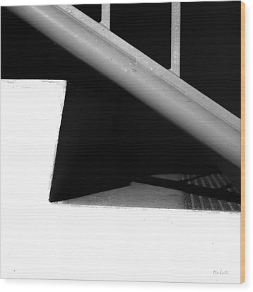 Two Steps Wood Print by Bob Orsillo