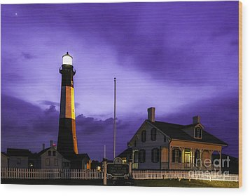 Tybee Purple Haze Wood Print
