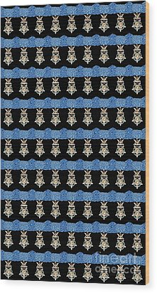 U S Army Congressional Medal Of Honor Wood Print by David Bearden