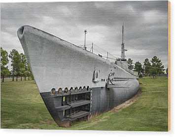 Wood Print featuring the photograph U. S. S. Batfish by James Barber