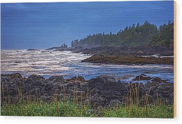 Ucluelet, British Columbia Wood Print by Heather Vopni