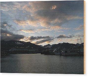Ufo In Alaska  Wood Print