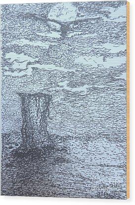 Ugly Wood Print