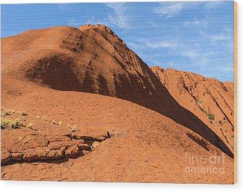 Wood Print featuring the photograph Uluru 04 by Werner Padarin