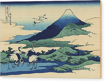 Umegawa In Sagami Province, One Of Thirty Six Views Of Mount Fuji Wood Print by Hokusai