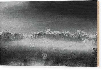Under A Cloud Wood Print
