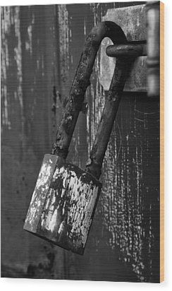 Under Lock And Key II Wood Print by Off The Beaten Path Photography - Andrew Alexander
