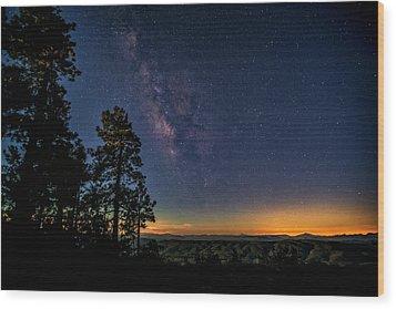 Wood Print featuring the photograph Under The Milky Way  by Saija Lehtonen