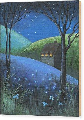 Under The Stars Wood Print