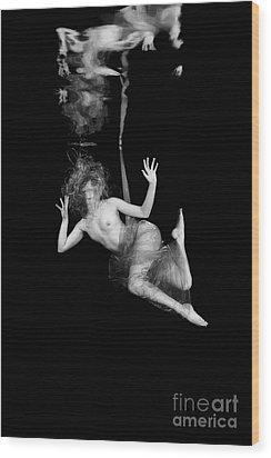Underwater Beauty 002 Wood Print