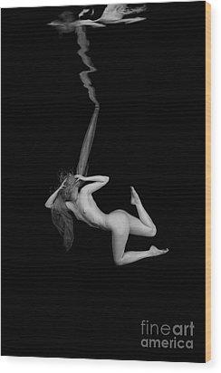Underwater Beauty 004 Wood Print