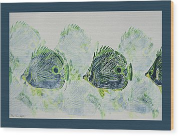 Underwater Impressions Wood Print