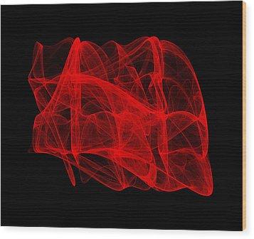 Unfolds Imperfect II Wood Print