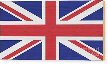 Union Jack Ensign Flag 1x2 Scale Wood Print